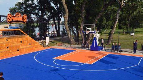 Podloga za basket Spanoulis Court Belgrade