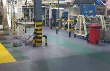 industrijski pod u komercijalnim uslovima
