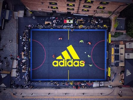 Bergo flooring - Adidas court London